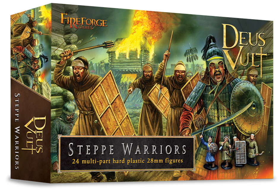 28mm Deus Vult: Steppe Warriors (24)