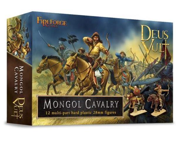 28mm Deus Vult: Mongol Cavalry (12)