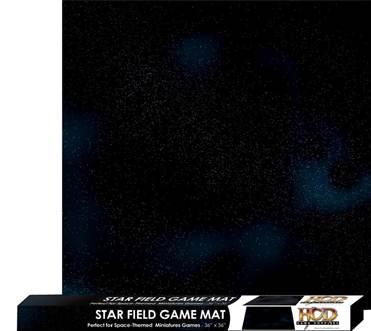 Gaming Accessories: Star Field Game Mat