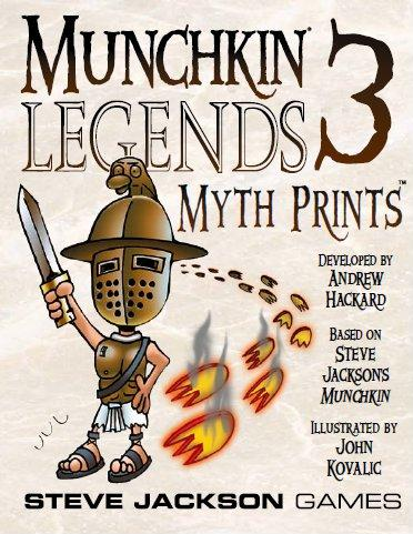 Munchkin Legends 3: Myth Prints (Expansion)