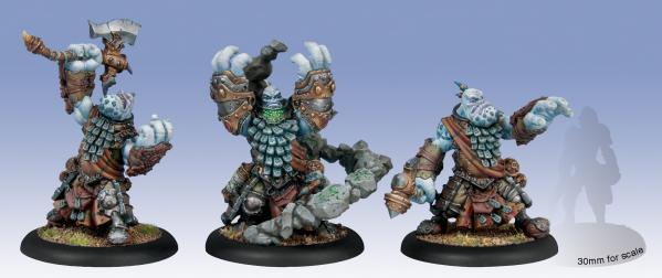 (Trollbloods) Trollkin Runeshapers (plastic)