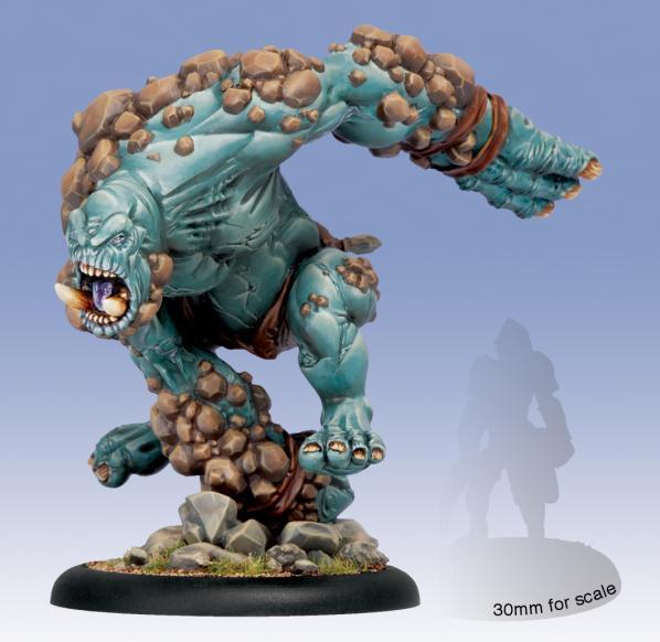 Hordes: (Trollbloods) Earthborn Dire Troll