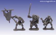 Grendel Metal Figures: Undead Orcs Warriors I