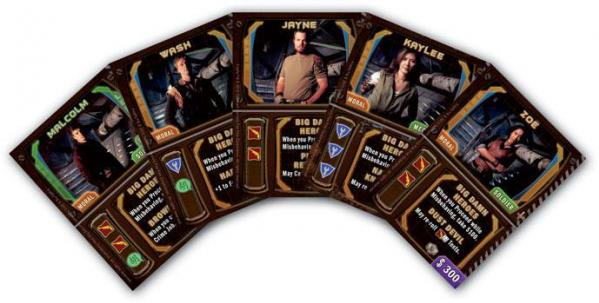 Firefly: Big Damn Heroes Card Set