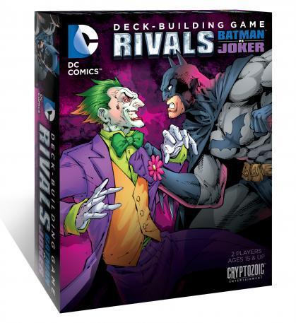 DC Comics DBG: RIVALS Batman vs The Joker