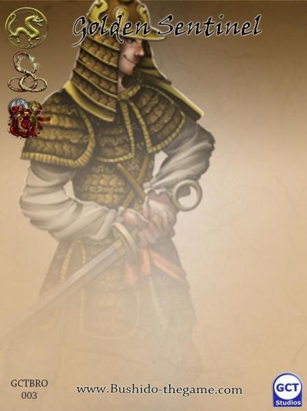 Bushido Miniatures: Golden Sentinels (Envoy Guards)