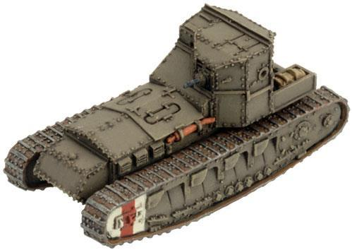 Flames of War: Great War - Mark A Whippet Tank