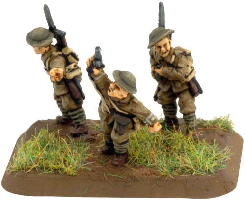 Flames of War: Great War - HQ and Rifle Platoon