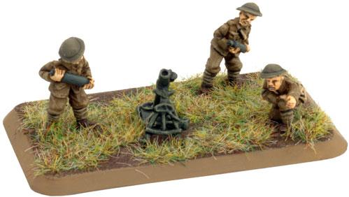 Flames of War: Great War - British Trench Mortar Platoon