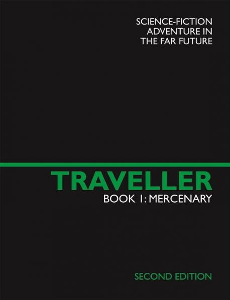 Traveller RPG - Book 1: Mercenary Second Edition