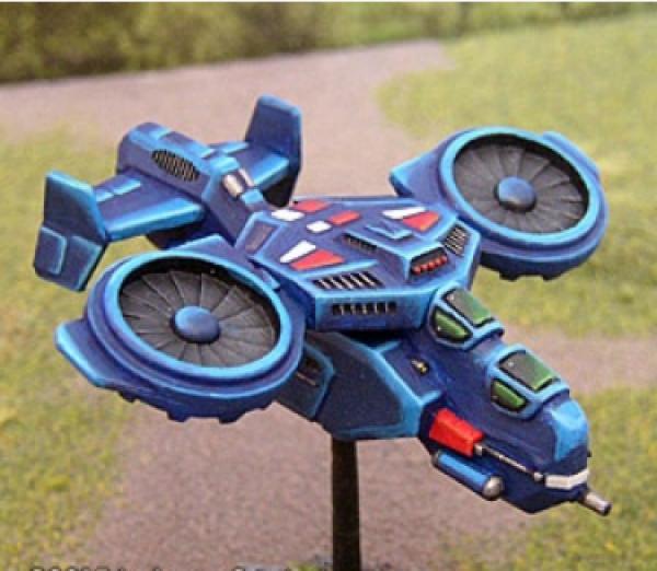 BattleTech Miniatures: Dark Age Cardinal Transport VTOL (TRO 3145 Mercs)