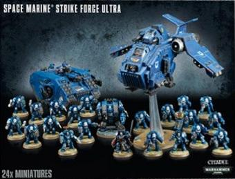 Warhammer 40K: Space Marine Strike Force Ultra