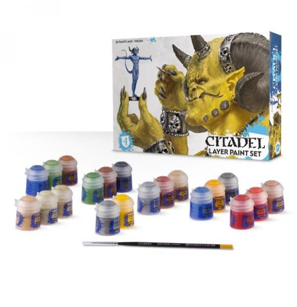 Supplies And Tools: Citadel Layer Paint Set