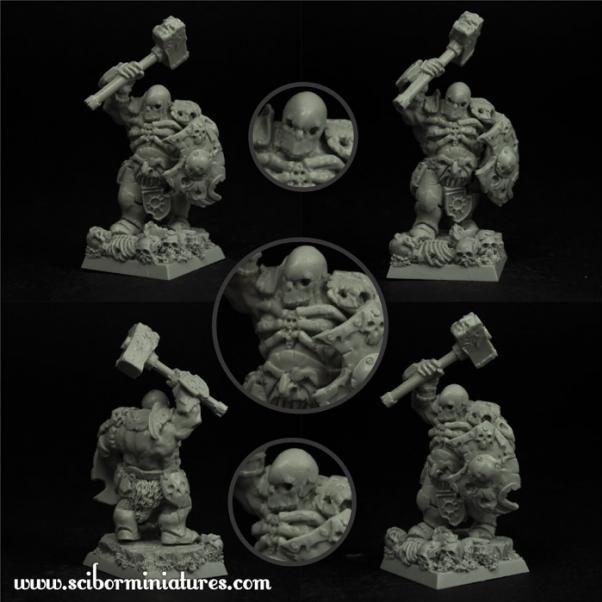 28mm Fantasy Miniatures: Barbarian Veteran #5
