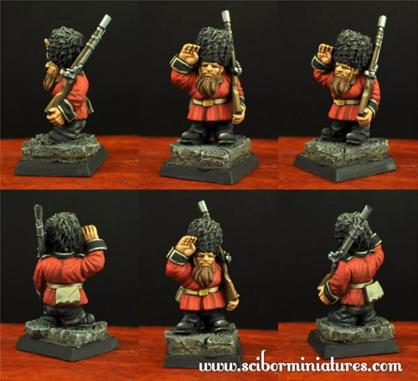 28mm Fantasy Miniatures: Salute Dwarf