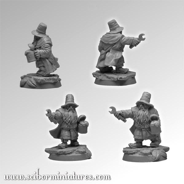 28mm Fantasy Football: 28mm/30mm Dwarf Medic