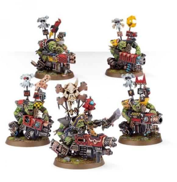 Shadow War: Ork Flash Gitz [KILL TEAM]