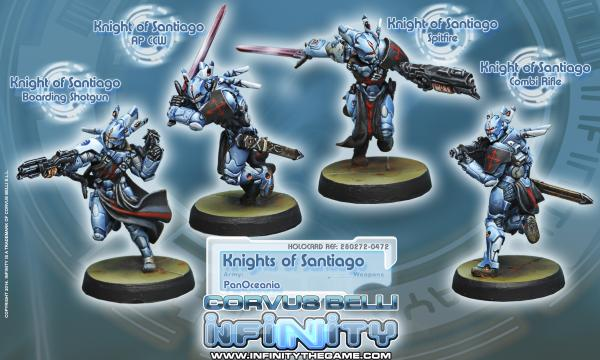 Infinity (#472) PanOceania: Knights of Santiago