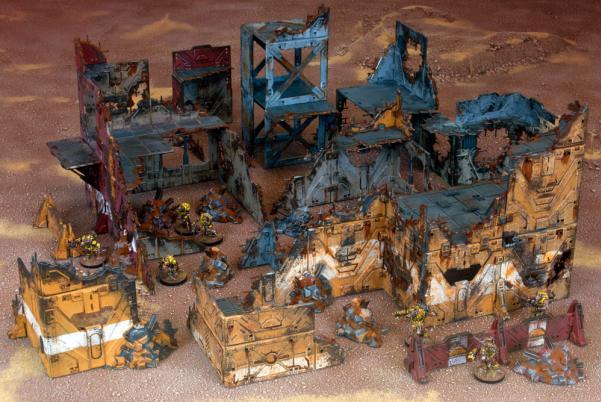 Battlezones: Sci-Fi Ruined Sector