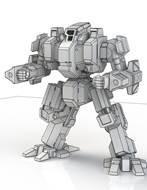 BattleTech Miniatures: Dark Age Carronade Mech (TRO 3145)