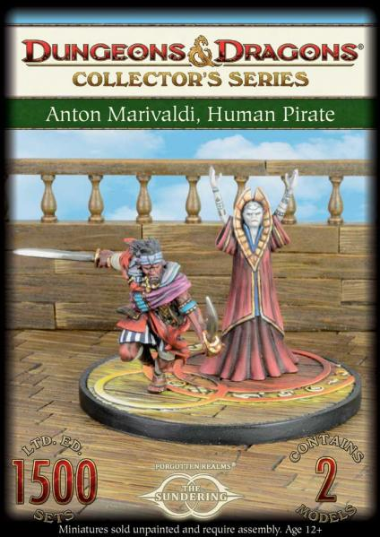 D&D Collector's Series: Sundering Book 4 - Anton & Umara (2 Figs)