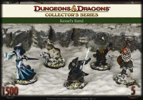 D&D Collector's Series: Kessel's Band (5)