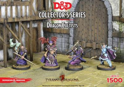 D&D Collector's Series: Tyrany of the Dragons, Cultists -  Rezmir, Talis, Frulam, Dal