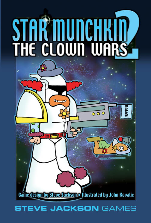 Munchkin: Star Munchkin 2: The Clown Wars (Expansion)