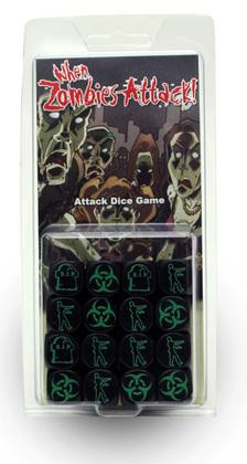 When Zombies Attack! Dice Game