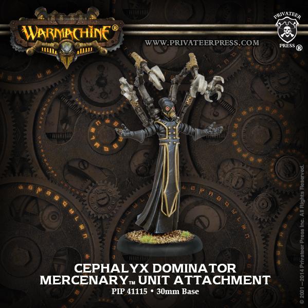 Warmachine: (Mercenaries) Cephalyx Dominator