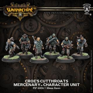 Warmachine: (Mercenaries) Croe's Cutthroats