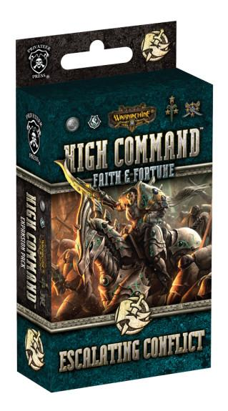 Warmachine High Command Expansion - Faith & Fortune: Escalating Conflict