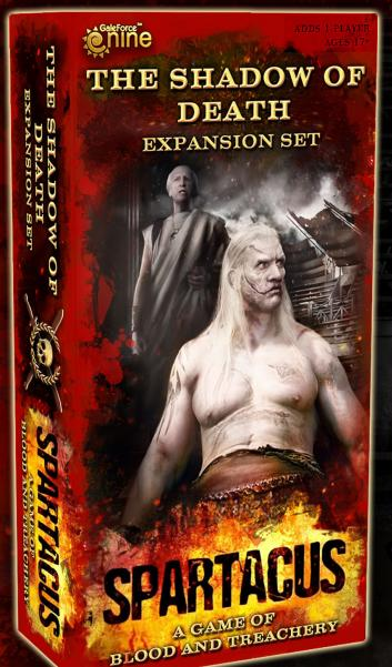 Spartacus Expansion: Shadows of Death