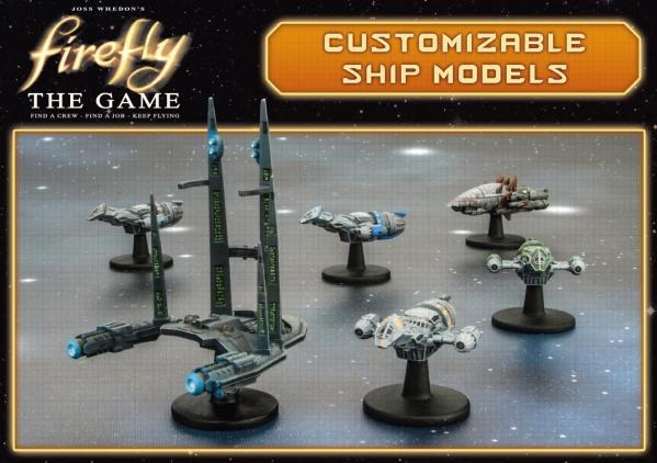 Firefly: Firefly, Bonnie Mae, Bonanza, Alliance Crusier, Reaver Cutter