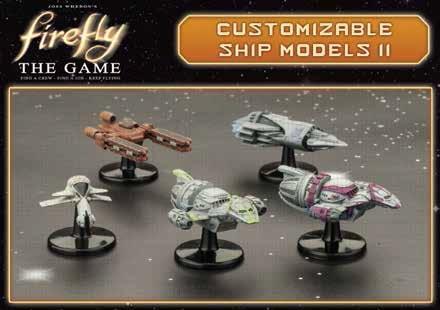 Firefly: S.S Walden, Interceptor, Artful Dodger & Blue Sun Ships