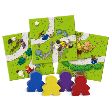 Carcassonne: My First Carcassonne (stand alone)