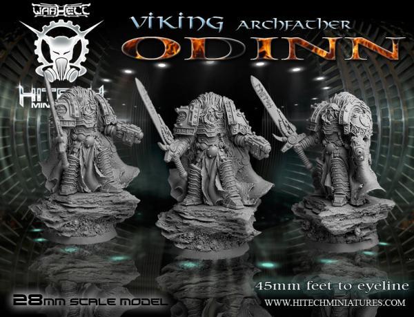WarHell: (Viking) ArchFather Odinn