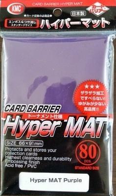 KMC Sleeves: Hyper Matte Purple (80)