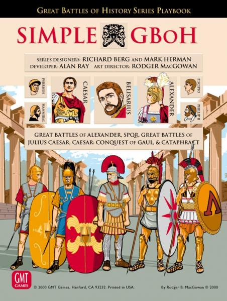 GMT Games: Simple GBoH Rules Set