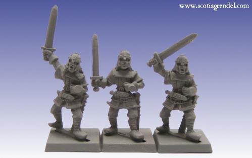Grendel Metal Figures: Northmen Swordsmen I