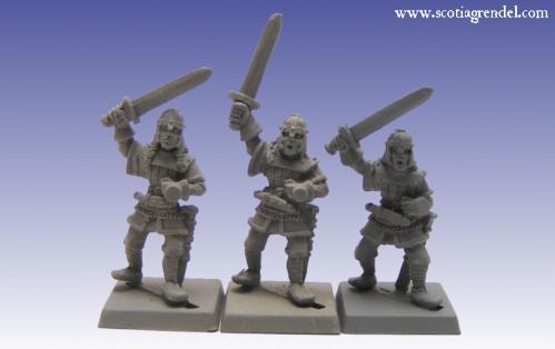 Grendel Metal Figures: Northmen Swordsmen II