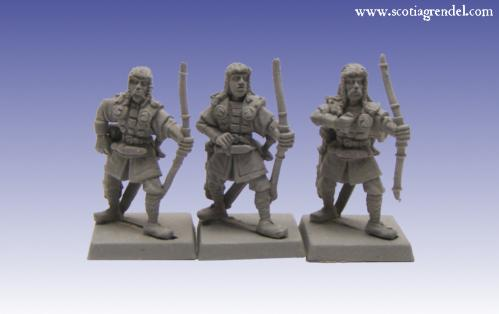 Grendel Metal Figures: Northmen Archers I