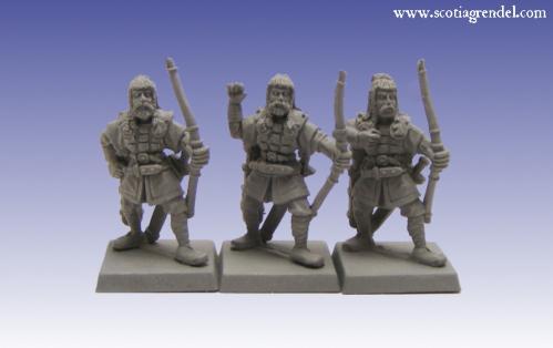 Grendel Metal Figures: Northmen Archers II