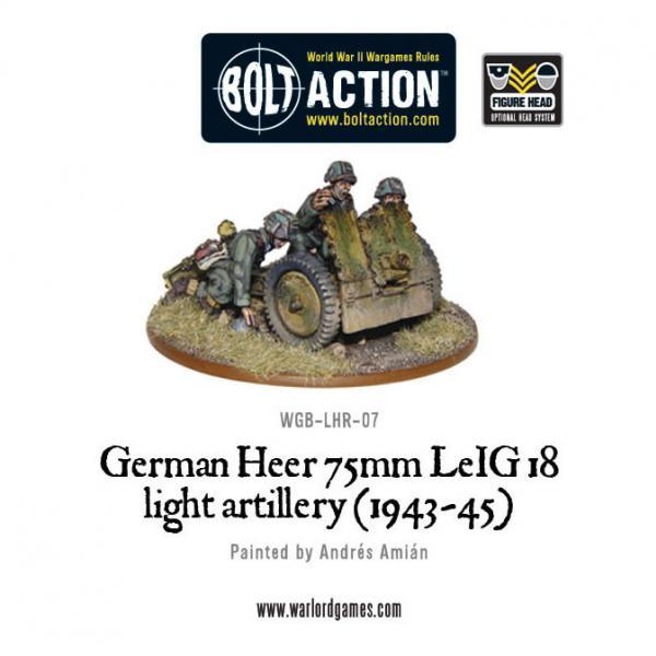 Bolt Action: (German) Heer 75mm LEiG 18 Artillery