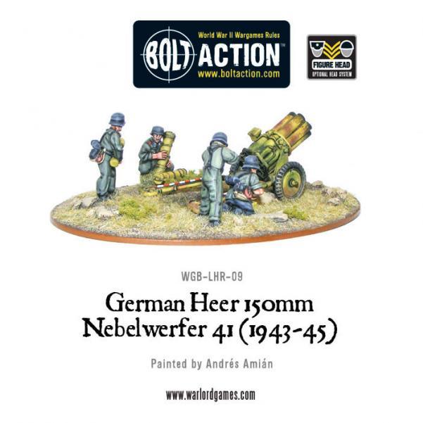 Bolt Action: (German) German Heer 150mm Nebelwerfer 41 (1943-45)
