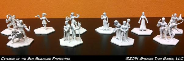 Sentinel Miniatures: The Flame of Freedom Miniature Pack