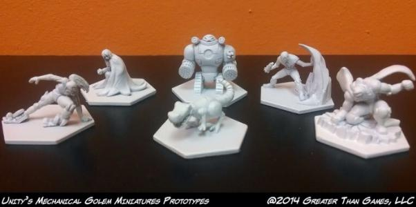Sentinel Miniatures: Uprising Miniature Pack