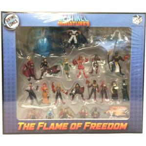 Sentinel Miniatures: The Flame of Freedom Pre-Painted Miniature Pack