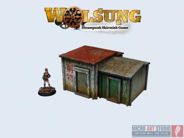 Wolsung Steampunk Game: XIX Century Shantytown