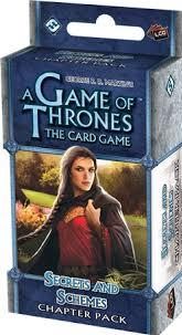 A Game of Thrones LCG: Secrets and Schemes Chapter Pack